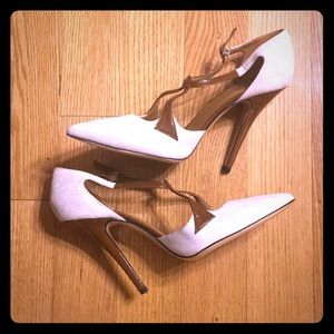 Suede Heels made in Italy